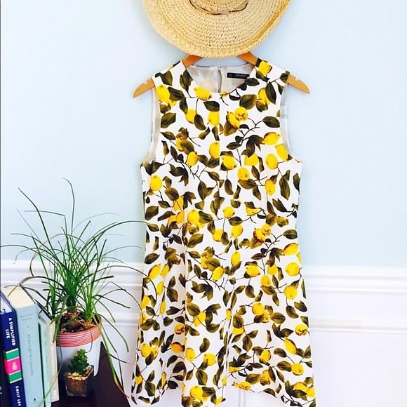 b3f375c5 Zara Sleeveless Lemon Dress . M_5b04604f5512fd02063ecc3a